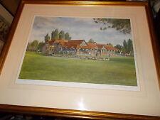 Frank Shipsides Golf club Signed Framed & Glazed Limited Edition Print (51/150)
