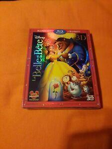 BLU RAY 3D La Belle et la Bête Disney Neuf Sous BLISTER