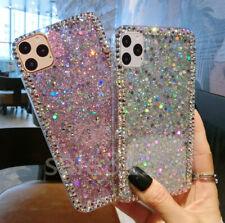 For iPHONE 11ProMax/LG Stylo 6/5/4 Bling Diamond Glitter Soft TPU Case Cover