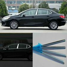 Full Window Pillars Window Sill Molding Trim Exactly Fitted For Citroen C4L 2013