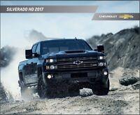 2017 Chevrolet Silverado HD Truck 42-page Original Car Sales Brochure Catalog