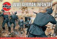 AIRFIX 726 1/76 WWI German Infantry 48 Plastic Toy Soldiers NEW MIB FREE SHIP