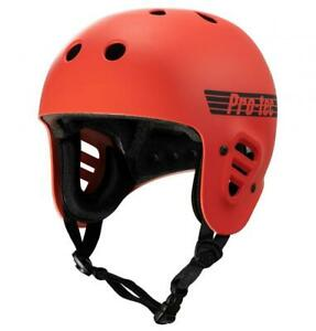 Pro-Tec Full Cut Certified Helmet, Matte Bright Red