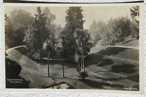 Postcard Bush Garden. Pasadena CA 1942 Golf