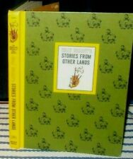 Vintage 1965 - Walt Disney'S ' Stories From Other Lands ' Hc Book