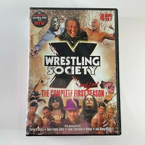 WRESTLING SOCIETY X the complete first season DVD