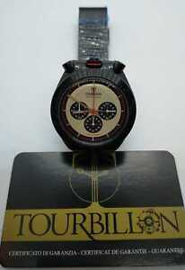 Orologio Tourbillon Bullhead Stile Vintage Mesh Ip Black Miyota Citizen OS20