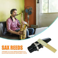 10pcs Alto Sax Reeds Strength 2.5 Saxaphone Woodwind Instrument Parts Accessorie