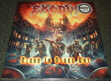 EXODUS-BLOOD IN BLOOD OUT-2014 2xLP BLUE VINYL-LIMITED TO 100!!-NEW+SEALED