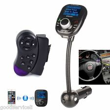 Steering Wheel Control +LCD Car Kit MP3 Bluetooth Player FM Transmitter Radio FM