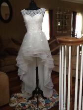 JJ'S HOUSE A LINE PRINCESS BEADING FLOWER WEDDING DRESS NWT!!!