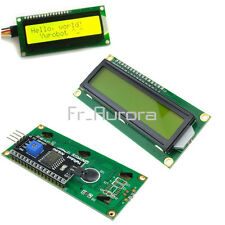 IIC/I2C/TWI/SPI Serial Interface 1602 16X2 Character Yellow LCD Module Display