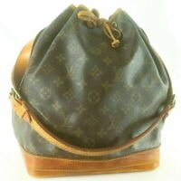 LOUIS VUITTON NOE Drawstring Shoulder Bag Purse Monogram M42226 Brown