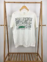 VTG Jerzees 1986 Bruce Johnson Tennis Everyone Short Sleeve T-Shirt Size XL USA