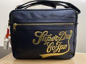 Superdry Large Monaco Bag - Rich Navy BNWT