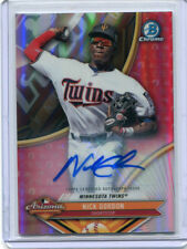 2017 BOWMAN CHROME PROSPECTS AUTO NICK GORDON REFRACTOR /150 AFL-NG