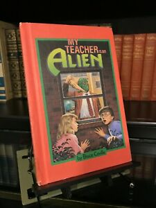 My Teacher Is An Alien by Bruce Coville - 2nd Printing Weekly Reader - Hardcover