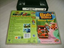 VHS *BOB THE BUILDER - MUCKY MUCK* ABC For Kids Issue Can we fix it? Yes we can!