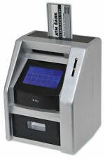 Red 5 ATM Bank Touch Screen Money Savings Box Uk