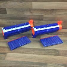 2 x Official Nerf N-Strike Retaliator Barrel Gun Extension With 20 New Bullets