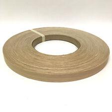 """White Oak Wood Veneer Edge Banding Pre-glued 7/8"""" x 250' roll"""