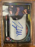 Logan Allen 2020 Topps Tribute RC Auto Parallel 111/199 Indians