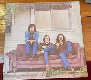 Crosby, Stills, Nash, Self Titled, 1969 ORIGINAL SD 8229 Gatefold LP