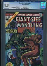 Giant Size Man Thing #1   (Glob app)   CGC 8.5  WP