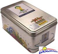 2014 Panini Adrenalyn Brazil XL World Cup Empty Collectors Tin-Rare!