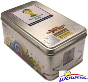 2014 Panini Adrenalyn Brazil XL World Cup Empty Collectors Tin-Rare!