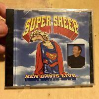 Ken Davis Live - Super Sheep, BN Sealed CD (Comedy, Religious)