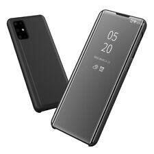 Funda Flip Cover Samsung Galaxy S20+ Plus Clear View Negra Tapa Espejo Carcasa