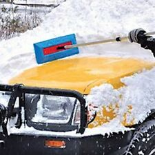 Sno Brum Original Snow Removal Tool W/ Telescoping Handle - 2 Pack