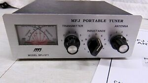 MFJ-971 HF Antenna Tuner QRP thru 200Watts & Cross Needle Wattmeter 1.8-30 MHZ