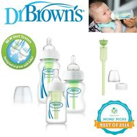 Dr Brown's Options Improved New Baby Anti-Colic Infant Milk Formula Bottle