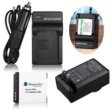 NB-6LH NB6L Battery + Charger For Canon PowerShot SX530 SX510 610 HS SD1300 D10