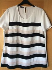 Ladies Top/ Blouse By Gerry Weber Size 14