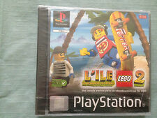 L ILE LA REVENCHE CASBRIK LEGO 2 PS1 PLAYSTATION 1 VERSION FR BLISTER SEALED