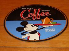 VINTAGE 1940 MICKEY MOUSE COFFEE 11 3/4