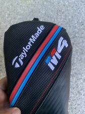 Barely Used TaylorMade M4 Fairway Headcover - Black/Red/Blue.