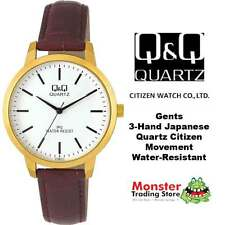 AUSSIE SELLER MEDIUM SIZE LEATHER BAND WATCH CITIZEN MADE C154J111 WARRANTY