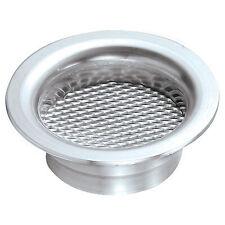 Revotec Aluminium Air Inlet Gauze Insert - Fits 63mm Air Inlet - In Silver