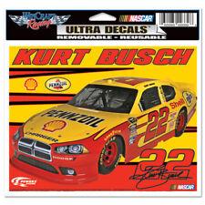"""KURT BUSCH #22 PENNZOIL NASCAR ULTRA DECAL 6""""X5"""""""
