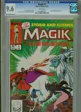 Magik #1  (Storm & Belasco app)   CGC 9.6  WP