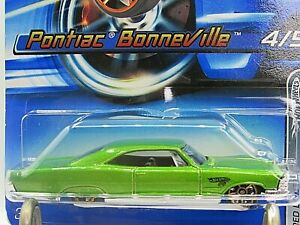 HOT WHEELS VHTF 2005 RED LINES SERIES 65 PONTIAC BONNEVILLE FASTER THAN EVER