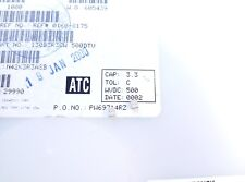 [ 25 pcs ] ATC series 130B(100B) 3.3pF @500V RF Porcelain Capacitors