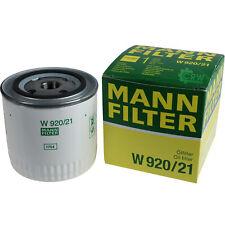 Original MANN-FILTER ÖlFILTER für Arbeitshydraulik W 920/21