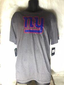 NFL New York Giants Tee Shirt Red Logo Nike Size 2XL Mens New