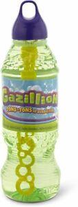 Gazillion Premium 1 Liter Bubbles Solution Bottle Refill for Blower Toy Kids wit