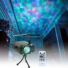 Studio Recording Equipment Wishwill Portable Water Wave RGB LED Stage Lighting